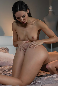 Lilu Moon and Sarah Smith in Take A Chance by Nik Fox indoor brunetteshaved pussy lick fingering
