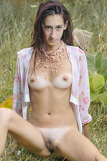 Sugary in Playing Around by Stanislav Borovec outdoor sunny redhead shaved pussy