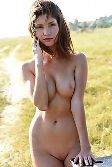 noreen opina fabrice outdoor brunette brown boobies shaved pussy beach wet sea custom