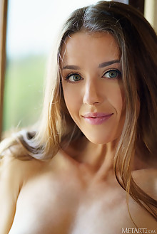 Sybil A in Mission by Luca Helios indoor brunette green eyes...