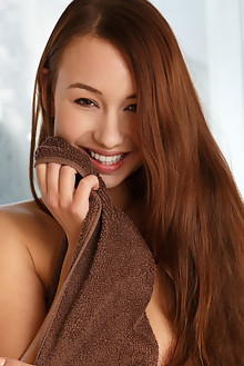 Taylor Sands in Fenika by Luca Helios indoor brunette brown ...