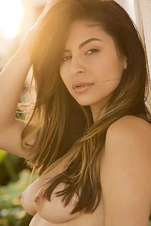 Nina North in Aldixa by Charles Lightfoot outdoor brunette b...