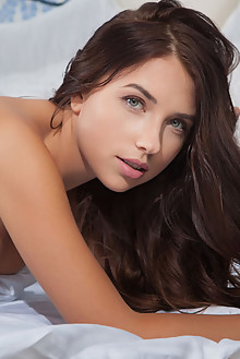 Presenting Niemira by Nudero indoor brunette blue eyes boobies tanned shaved tight pussy latest