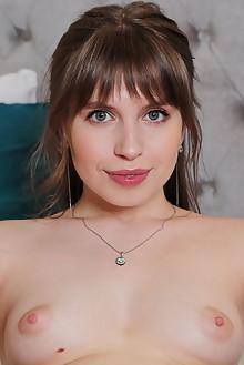 Aristeia in Stay In Bed by Leonardo indoor brunette blue eyes trimmed pussy custom