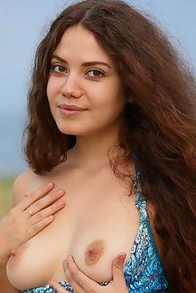 norma a joel curly hair antonio clemens outdoor brunette hazel boobies ass pussy