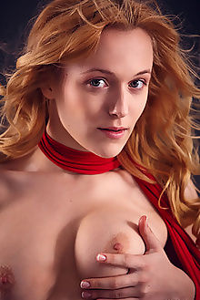aislin renara alex lynn indoor redhead blue boobies pussy custom