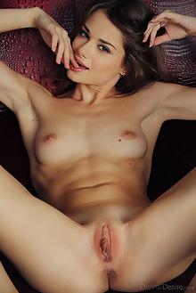 loretta leroy arkisi indoor brunette brown shaved pussy ass labia
