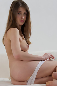 Cheeta in Make You Me Happy by Thierry Murrell indoor brunette shaved pussy
