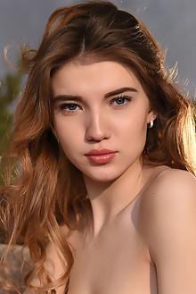 Caramel in Ashki by Paromov indoor brunette blue eyes boobies shaved custom latest