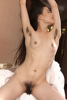 Frankie in Hotel Fun by Egon Schneider indoor brunette hairy...