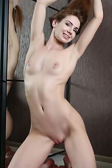 Presenting Melissa D by Anton Volkov indoor brunette brown eyes shaved ass latest
