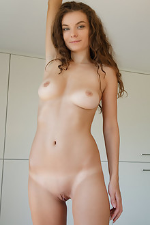 Veronika Glam in Danke by Rylsky indoor brunette boobies sha...