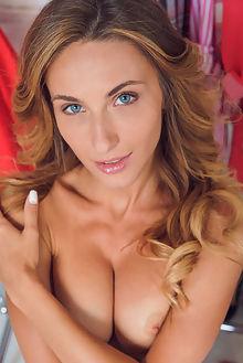cara mell tresine alex lynn indoor blonde blue eyes boobies shaved pussy