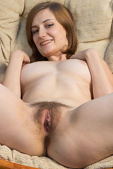 Madeline B in Close Ups by Rylsky outdoor brunette hairy unshaven pussy ass