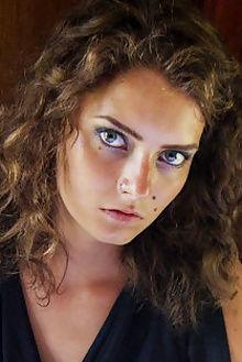 jacinta leocadia discipline angela linin indoor brunette redhead brown green