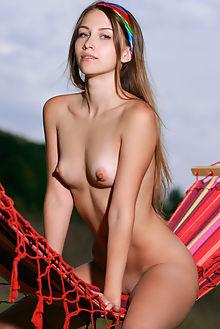 violet mirozet matiss outdoor brunette blue shaved ass pussy hips tight