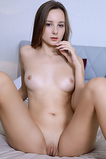 Presenting Rosalina by Matiss indoor brunette brown eyes shaved pussy