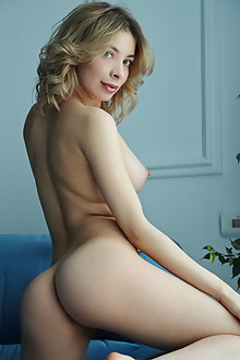 Eva Tali in Diversion by Leonardo indoor blonde blue eyes boobies shaved pussy