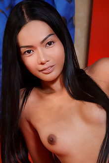 Magen in Wild by Luca Helios indoor asian brunette black hair brown eyes shaved pussy