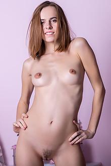 Gracie in Shades Of Lavender by Marlene indoor brunette haze...
