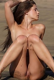 caprice a preah don caravaggio outdoor brown brunette pussy beach sunny custom