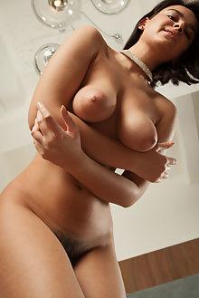 sanita nystra ron offlin indoor brunette brown busty boobies...