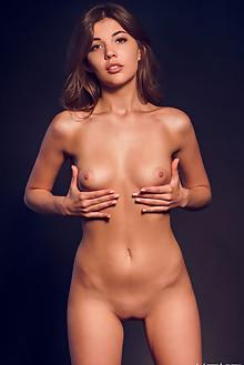 Monika Dee in Splendor by Alex Lynn indoor brunette brown eyes boobies shaved pussy custom