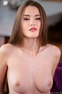 Sonya Blaze in Purple Daze by Sandra Shine indoor brunette boobies shaved pussy fingering ass