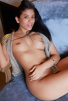 Presenting Karin Torres by Erro indoor latina brunette black...
