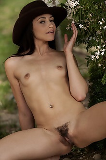 Avi Love in One Of The Boys by Charles Lightfoot outdoor brunette green eyes small tits hairy trimmed pussy