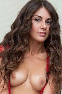 astrud a vermelho azul rylsky indoor brunette brown eyes pussy boobies