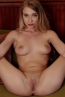 Riley Anne in Waiting for Love by Cassandra Keyes indoor blonde blue eyes boobies shaved pussy custom