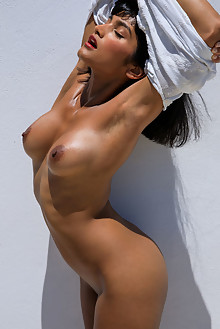 Angel Constance in Bronzed Beauty by Cassandra Keyes outdoor...
