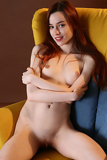 Sherice in Sherice by Anton Volkov indoor redhead shaved pussy piercing