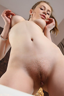 Britney A in Fish by Antonio Clemens indoor brunette blue eyes shaved pussy ass wet latest
