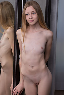 Rina E in Rina E by Marlene indoor blonde shaved
