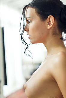 Sapphira A in Tuesday by Alex Lynn indoor brunette black hai...