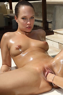 gina gerson blue angel grope outdoor blonde brunette shaved pussy fist dildo fingering