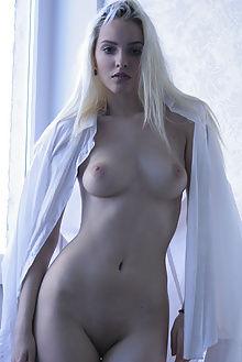 kira w sheer white natasha schon indoor blonde boobies