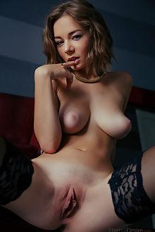 selina new model presenting arkisi indoor brunette blue boobies shaved ass pussy