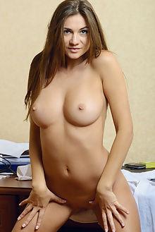 gallina secretary max asolo indoor brunette