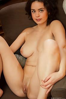 Arcadia in Sneak Peak by Albert Varin indoor brunette brown eyes black hair boobies busty shaved pussy ass custom
