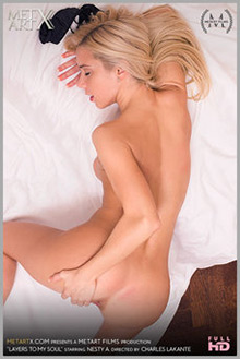 Nesty A in Layers to My Soul by Charles Lakante indoor blonde blue eyes shaved pussy fingering ass movies latest