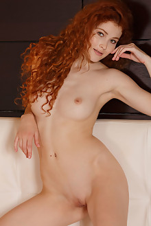 Adel C in Temiza by Luca Helios indoor redhead hazel eyes boobies shaved pussy ass