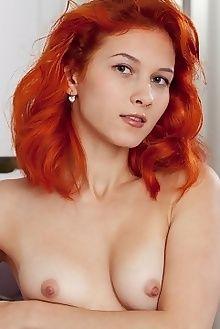 ambre atete albert varin indoor redhead hazel small tits shaved ass pussy custom