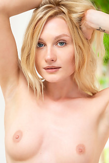 Gerda Rubia in Ethereal by DeltaGamma indoor blonde blue eyes petite shaved pussy