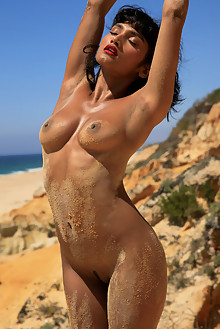 Angel Constance in Desert Angel by Cassandra Keyes outdoor s...