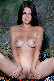 Martina Mink in Provocative by Matiss outdoor sunny brunette...