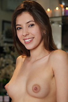 Avery in Candle Shop by Leonardo indoor brunette brown eyes ...