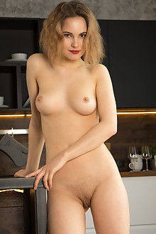 Diana Jam in My Tights by Ron Offlin indoor blonde brown eyes boobies shaved pussy